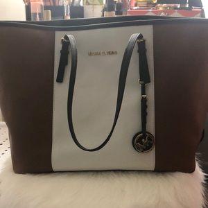 Michael Kors block colored purse